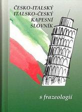 Česko-italský italsko-český kapesní slovník s frazeologií