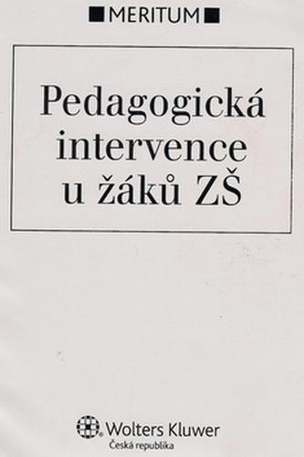 Pedagogická intervence u žáků ZŠ
