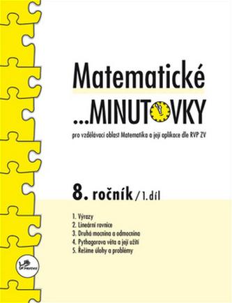 Matematické minutovky pro 8. ročník - 1. díl - Miroslav Hricz