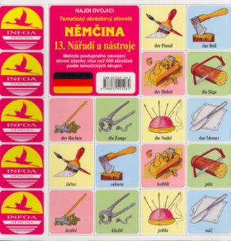 Němčina 13.Nářadí a nástroje - pexeso - neuveden