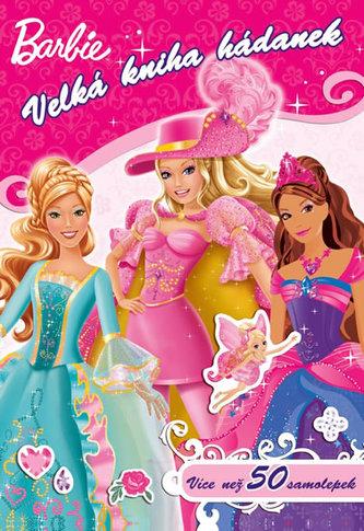 Barbie Velká kniha hádanek