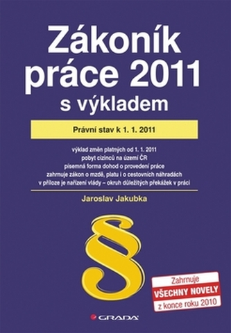 Zákoník práce 2011 s výkladem