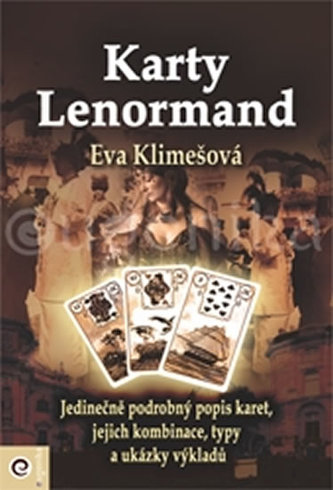 Karty Lenormand (kniha) - Klimešová, Eva