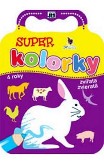 Super kolorky zvířata