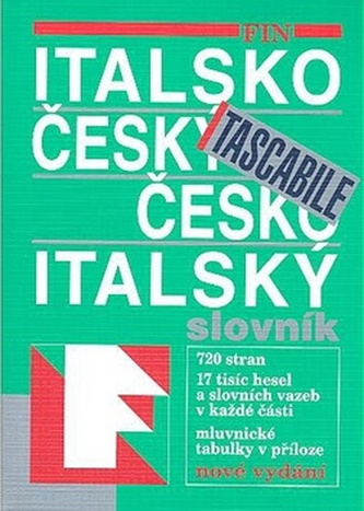 Italsko-český česko-italský slovník Tascabile