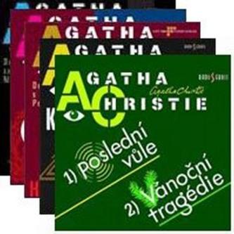Agatha Christie Komplet 5 CD