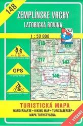 Zemplínské vrchy  Latorická rovina 1 : 50 000