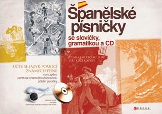 Španělské písničky se slovíčky, gramatikou a CD