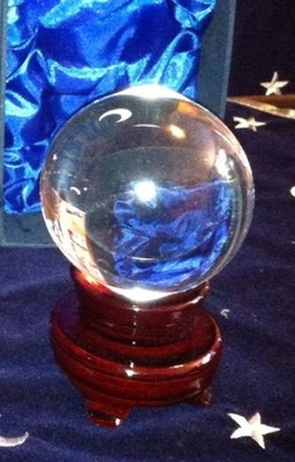 Křišťálová koule 6 cm