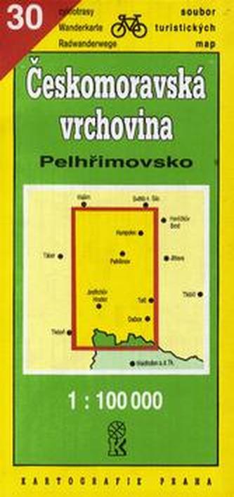 TM 30 Českomor.vrch. Pelhřimov
