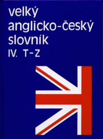 Velký anglicko - č. slovník 4.
