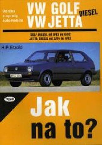 VW Golf od 9/83 do 6/92, Jetta diesel od 2/84 do 6/92