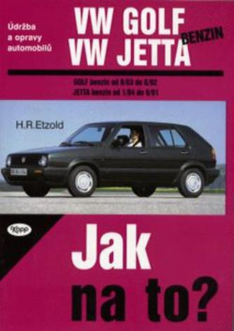 VW Golf, Jetta benzín od 9/83 do 6/92 - Hans-Rüdiger Etzold