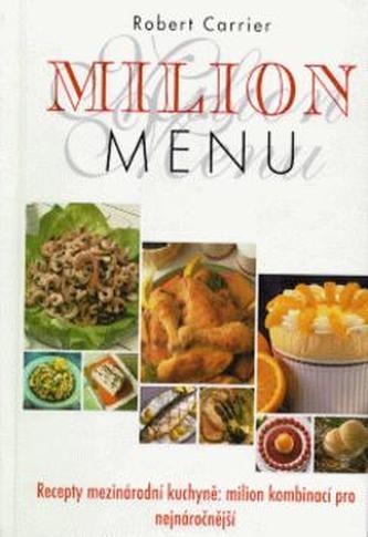 Milión menu