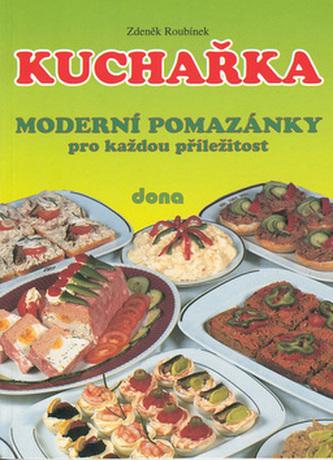 Kuchařka Moderní pomazánky nv.