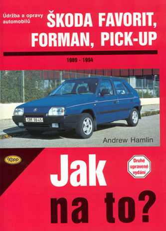 Škoda Favorit, Forman, Pick-up 1989 - 1994