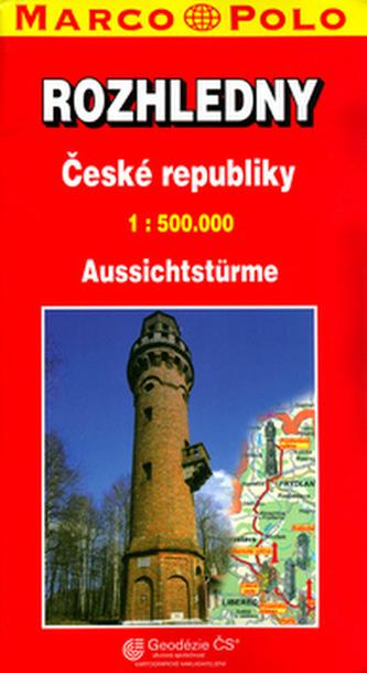 Rozhledny ČR 1:500 000