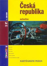 Česká republika autoatlas