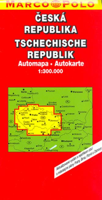 Česká republika Automapa