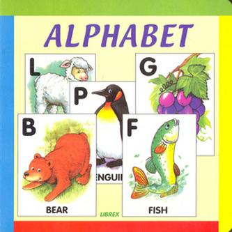 Alphabet anglické leporelo