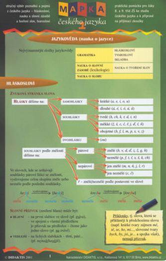 Mapka českého jazyka