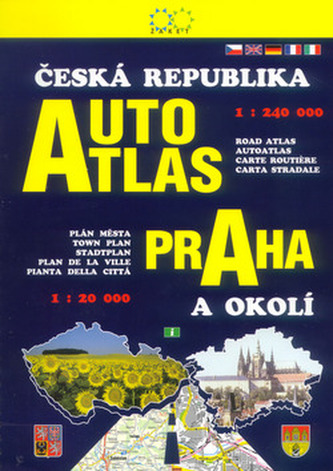 Autoatlas ČR + Praha a okolí