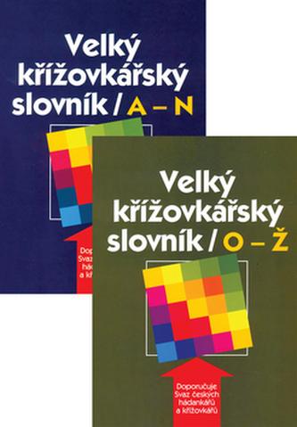 Velký křížovkářský slovník A-N,O-Ž