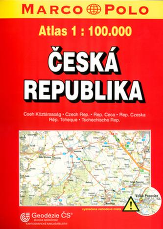 Česká republika atlas 1:100T