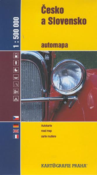 Česko a Slovensko automapa