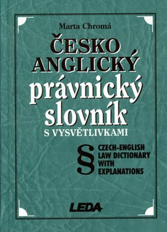 Česko-anglický právnický slov.