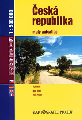 Česká republika malý autoatlas