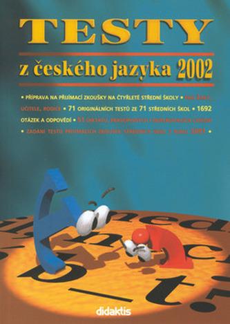 Testy z českého jazyka 2002