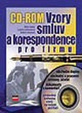 Vzory smluv a korespondence+CD