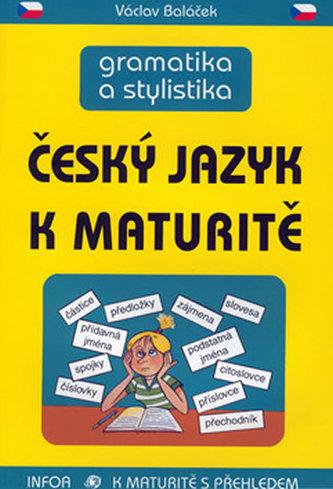 Český jazyk k maturitě