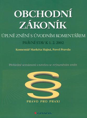 Obchodní zákoník ú.z.k 1.2.02