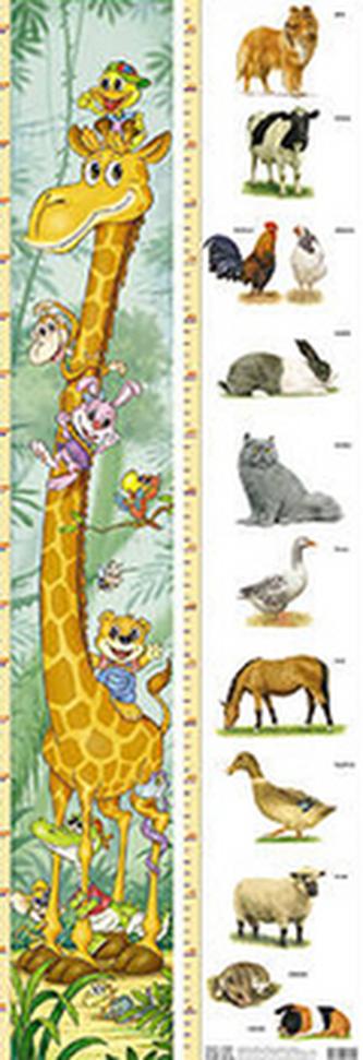 Dětský metr 8.(žirafa+zvířat)