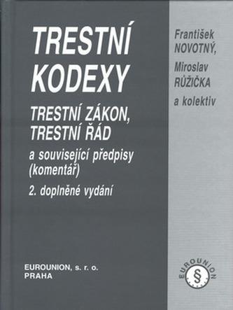 Trestní kodexy 2.dopl.vyd.