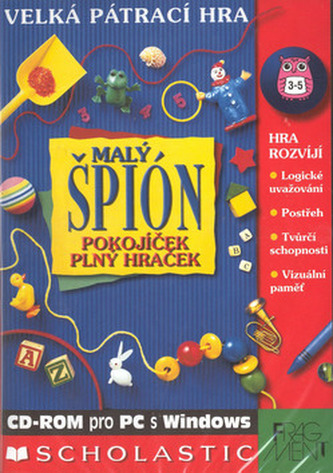Malý špión Pokojíček plný hraček