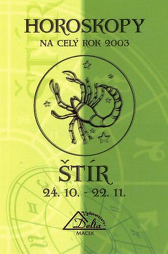 Horoskopy 2003 ŠTÍR