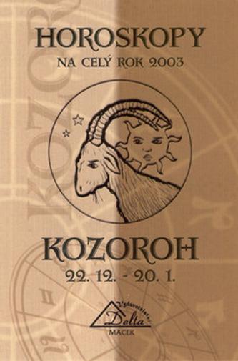 Horoskopy 2003 KOZOROH