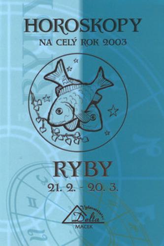Horoskopy 2003 RYBY