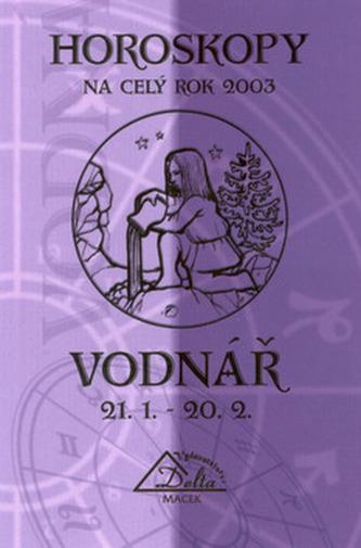 Horoskopy 2003 VODNÁŘ