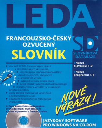 CD ROM Francouzsko-český ozvučený slovník