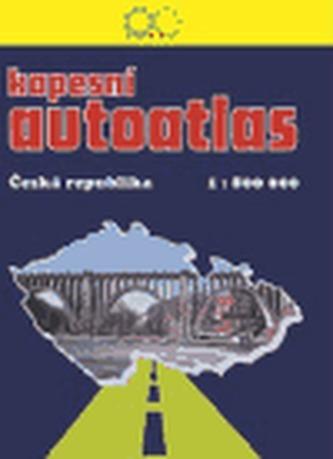Kapesní autoatlas ČR 1:800 000