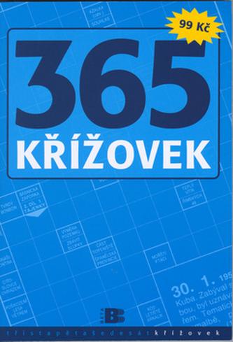 365 křížovek modré
