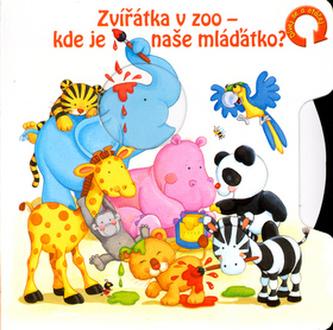 Zvířátka v ZOO - kde je naše mláďátko?