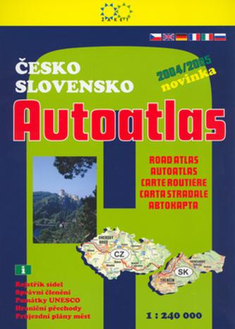 Česko Slovensko Autoatlas 2004/2005