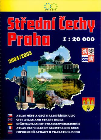 Střední Čechy, Praha 1:20000 2vydání 2004/2005