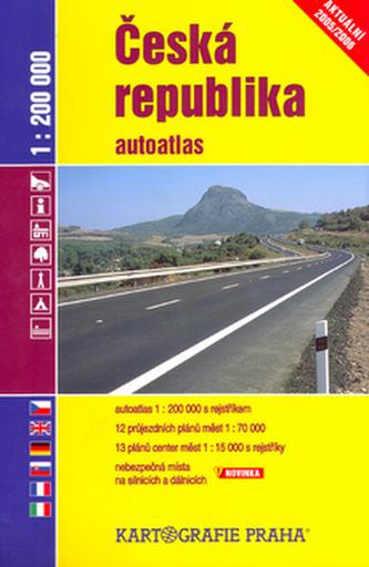 Česká repubublika autoatlas