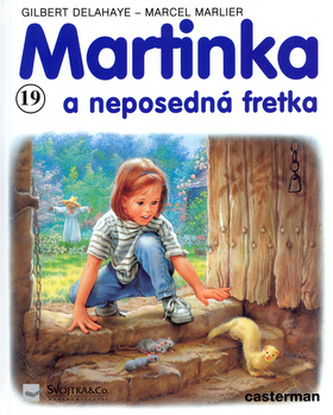 Martinka (19) a neposedná fretka